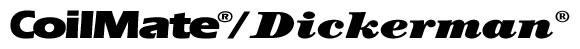Used Coilmate/Dickerman machines