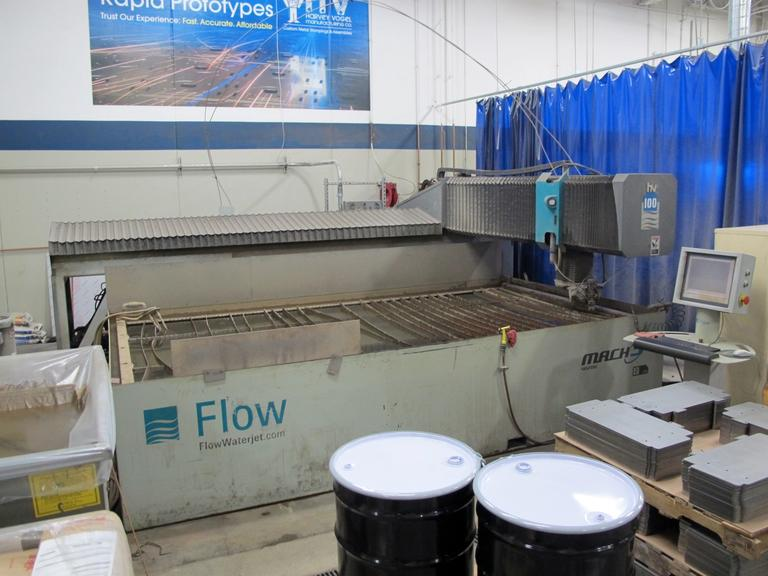 CNC WaterJet Cutting Machine For Sale At MachinesUsed