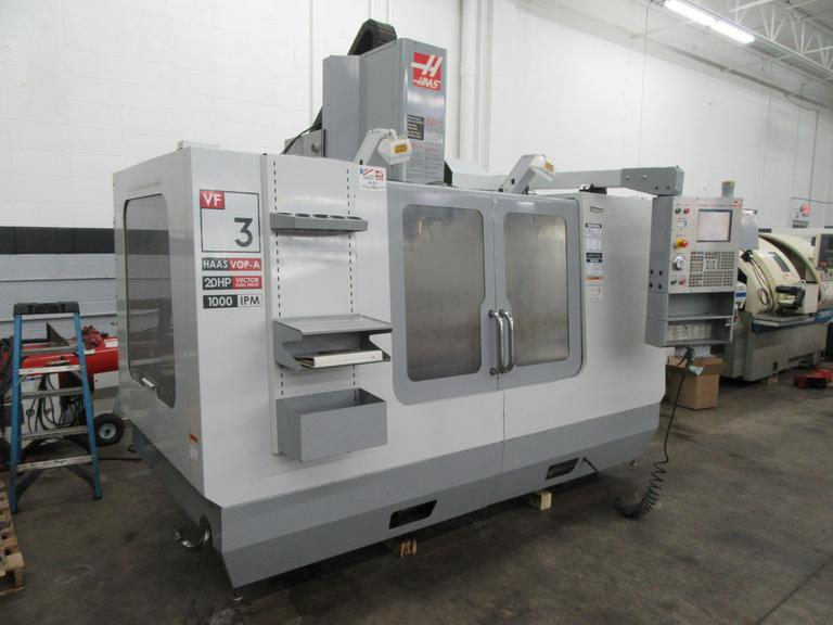 Haas VF-3 CNC VMC For Sale At MachinesUsed