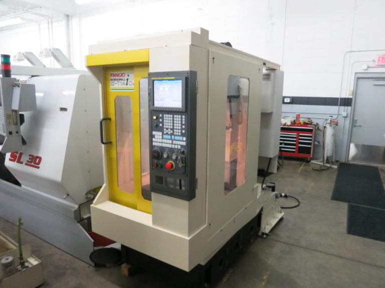 Fanuc RoboDrill Alpha T14-iDS CNC Vertical Machining Center with 10,000 RPM Spindle, Narrow Profile Machine