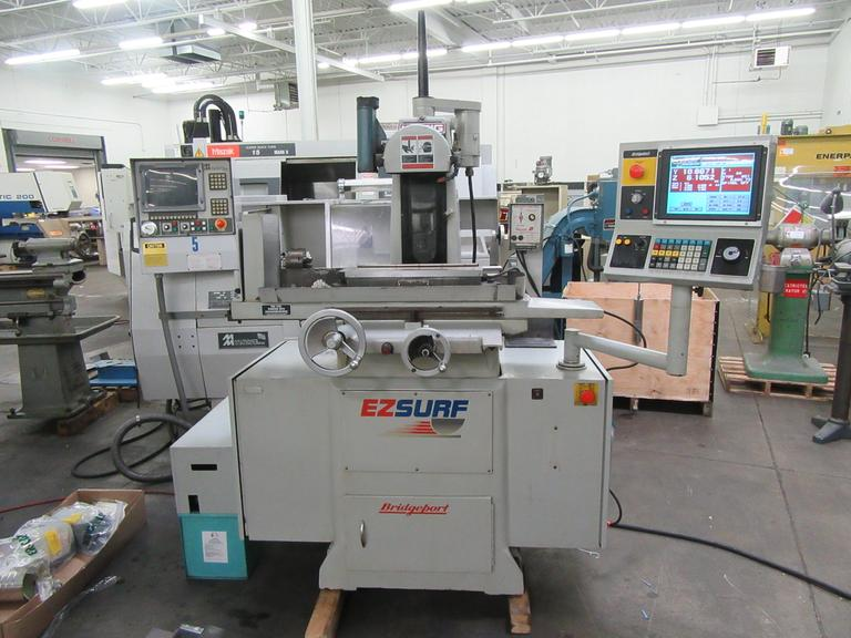 "Bridgeport Harig EZ Surf 3-Axis Automatic 6""x18"" Programmable Surface Grinder with 6""x18"" OS Walker Fine Pole Variable Electromagnetic Chuck"