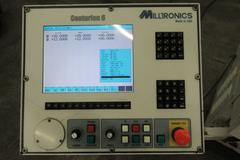 "Milltronics ML17 CNC Flat Bed Lathe with Centurion 6 CNC Control, 8"" 3-Jaw Chuck, Tailstock, Toolpost"