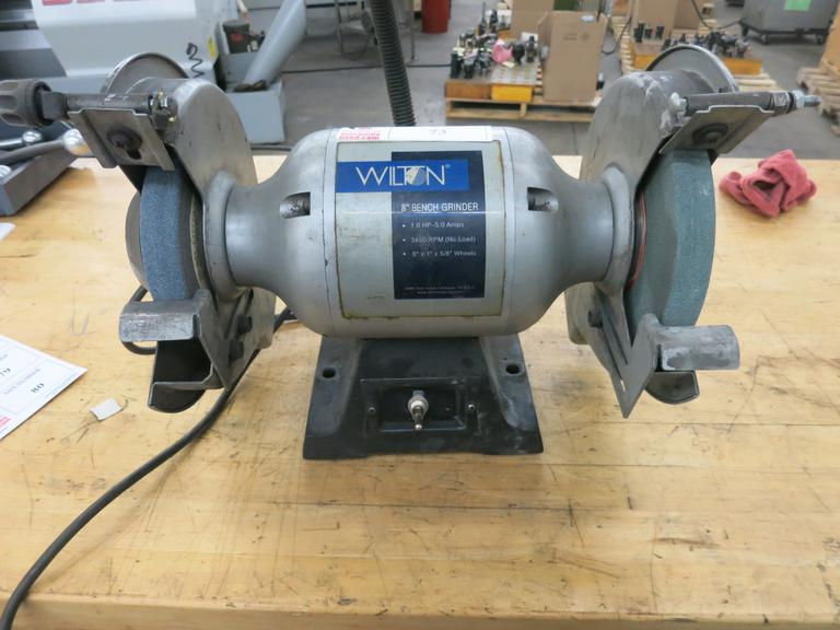 Machines Used Wilton 8 Double End Bench Grinder