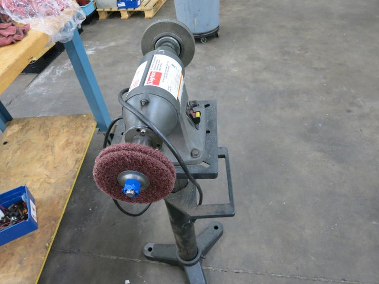 "Dayton 8"" Double End Buffer On Stand"
