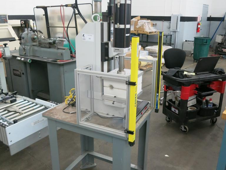 Schmidt Model 25-100 Pneumatic C-Frame Press with Light Curtains
