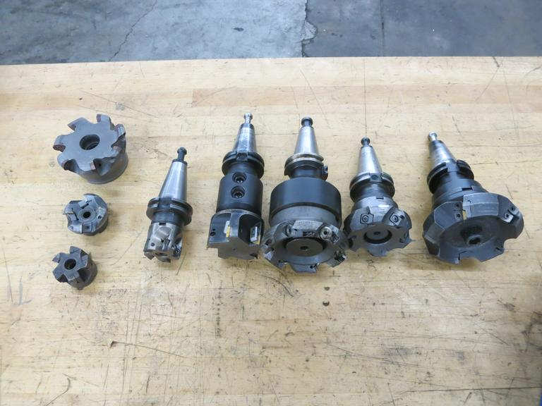 Cat 40 Tool Holders, Milling Cutters As shown