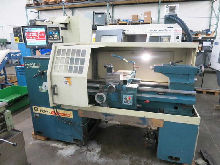 Bridgeport Romi EZ-Path II CNC Engine Lathe