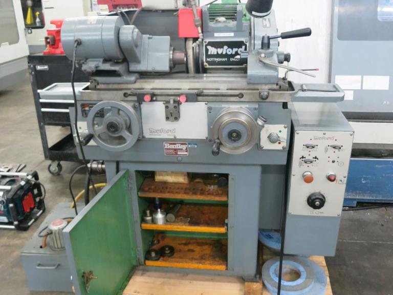 Myford MG12 Plain Cylindrical Grinder, Hand Feed, Motorized Workhead