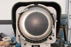 Nikon Model 6C-2 Optical Comparator Vertical Style