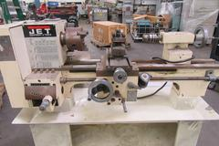Machines Used | Jet Model BD-920N Portable Toolroom Lathe
