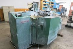 "Almco 2SF48A Two Spindle Rotary Parts Deburring Machine, 48"" Diameter Bowl"