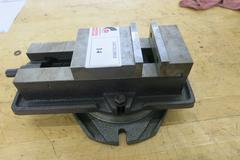 "Machine Vise, 5"" Wide Jaws with Swivel Base"