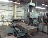 "Giddings & Lewis 4"" CNC Horizontal Boring Mill / Jig Borer w Rotary Table"