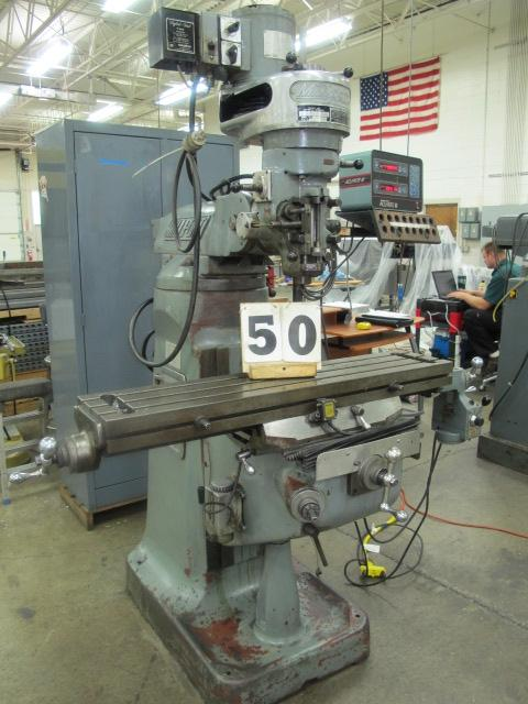 Machines Used   Millport Model - 2S Vertical Knee Mill