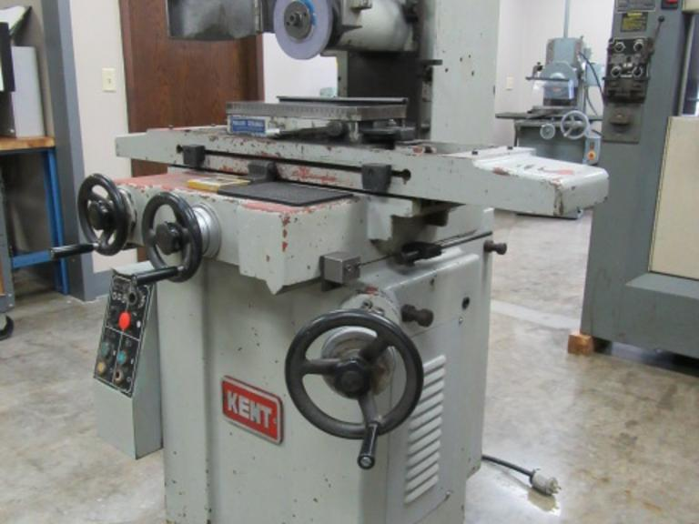 "Kent Model KGS-200 6"" x 18"" Hand Feed Surface Grinder"