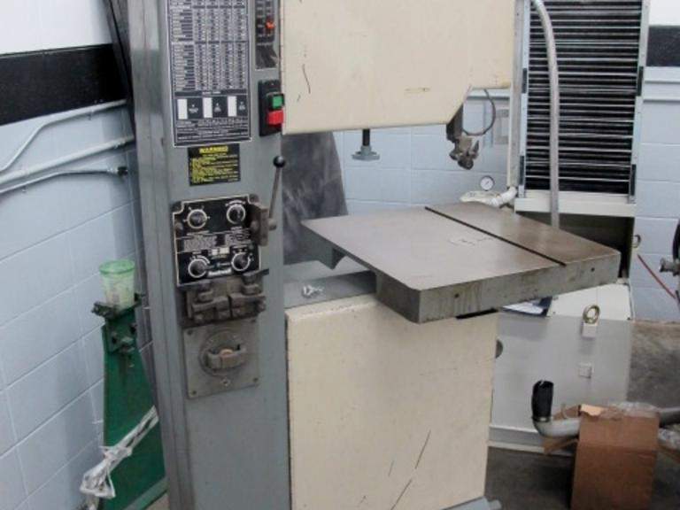 Rockwell Model 28-3X5 Vertical Bandsaw