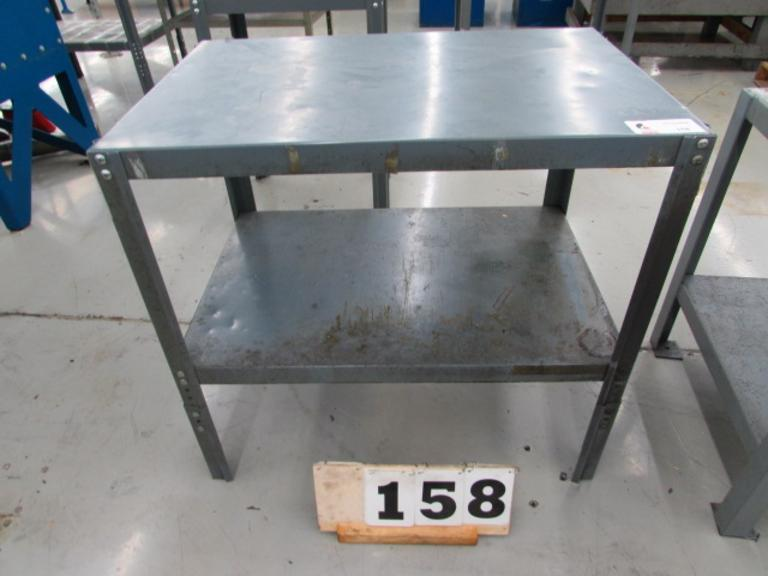 Work Smart Steel Table