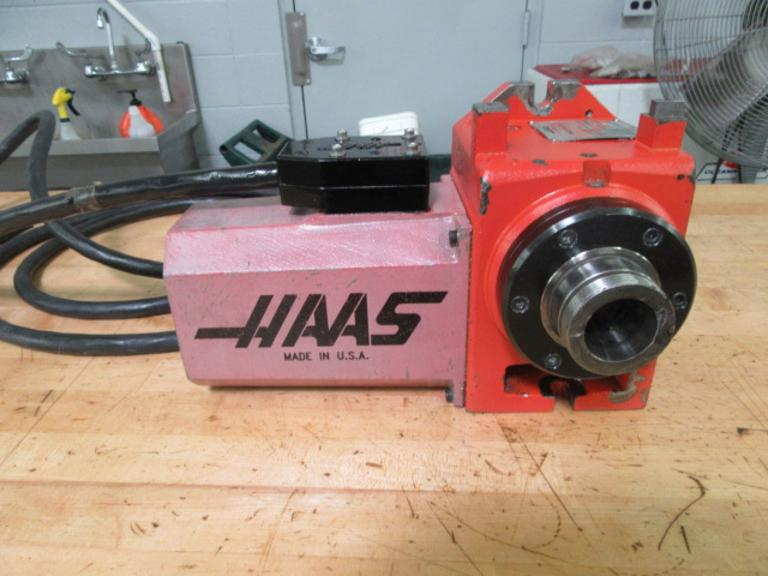 Haas HA5C Programmable Rotary Table With Cable and Connector