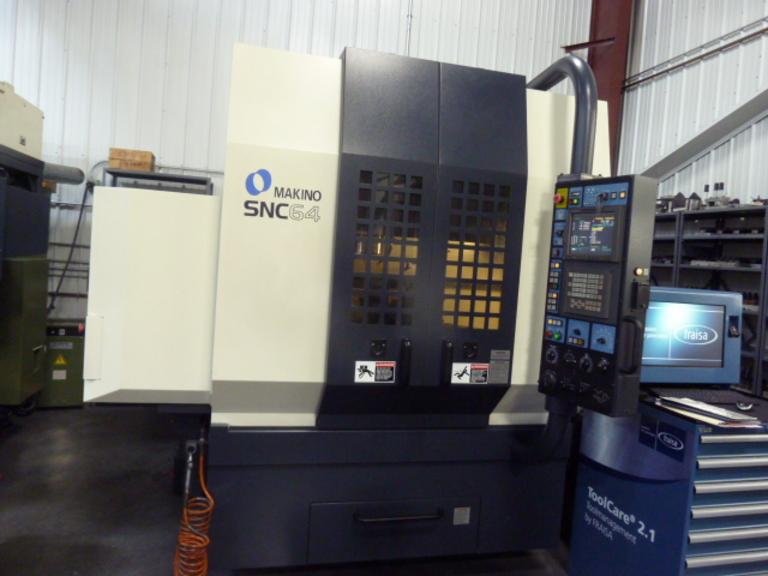 Makino SNC 64 CNC Vertical Machining Center - 20,000 RPM Spindle