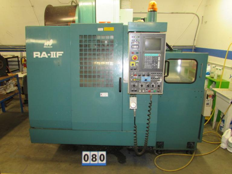 Matsuura RA-IIF CNC Vertical Machining Center with Pallet Changer