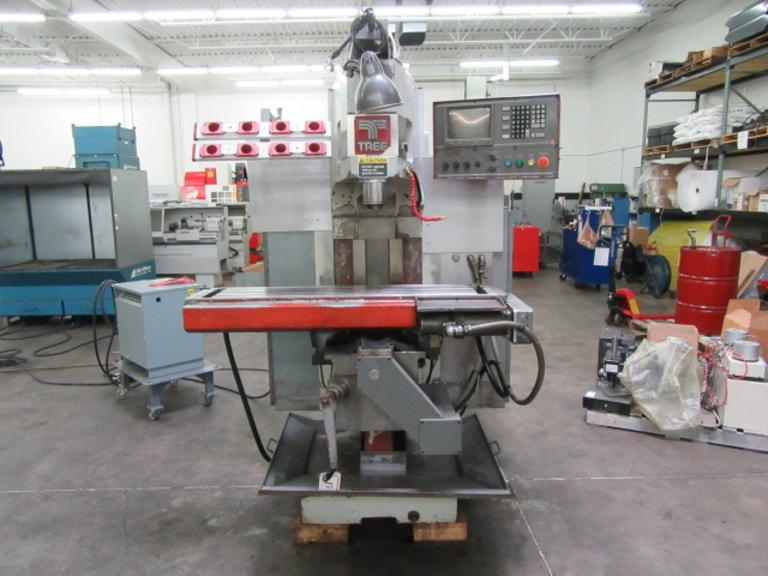 Tree Model J425 Journeyman 3-Axis CNC Vertical Milling Machine