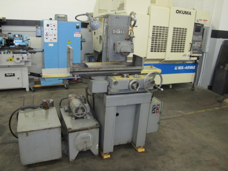 DoAll DH-618 2-Axis Automatic Horizontal Surface Grinder