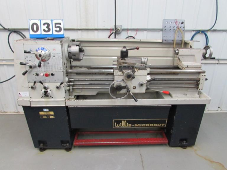 "Willis Microcut 14"" x 40"" Engine Lathe"