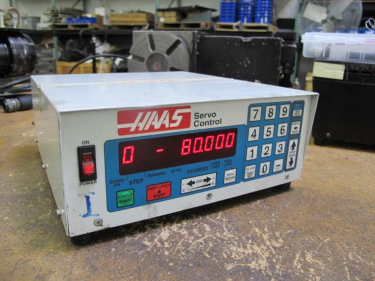 Haas Servo Control Unit for Brush Drive Rotary Tables