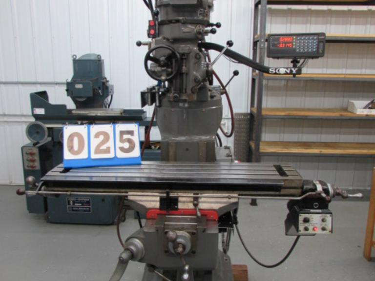 Bridgeport Series I Vertical Knee Mill