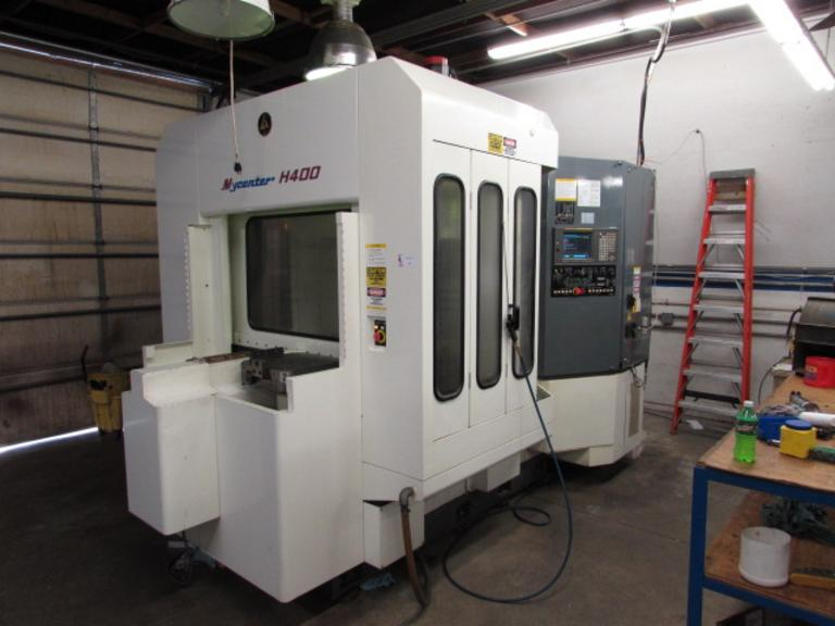 Kitamura Mycenter H400 CNC Horizontal Machining Center
