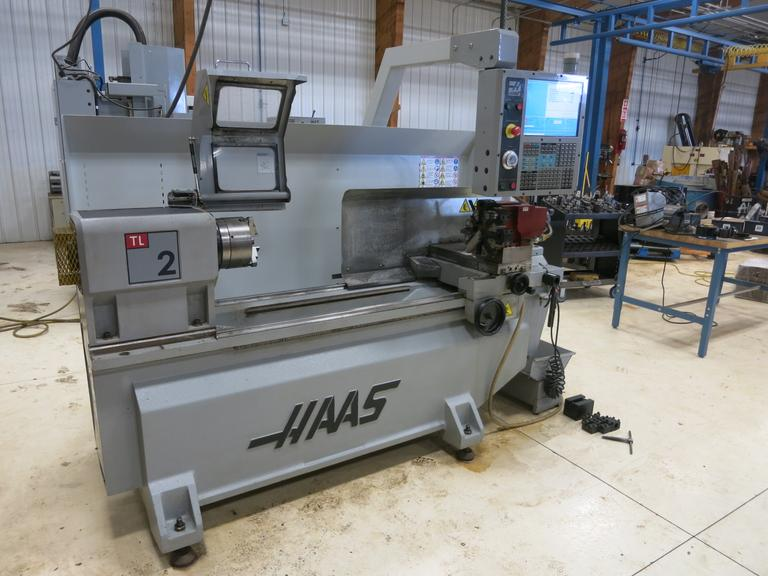 Haas TL-2 CNC Toolroom Lathe with Tailstock and Dorian Automatic Turret