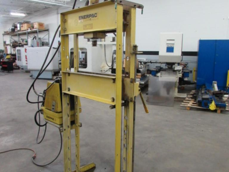 Machines Used | Enerpac 25 Ton H-Frame Hydraulic Shop Press
