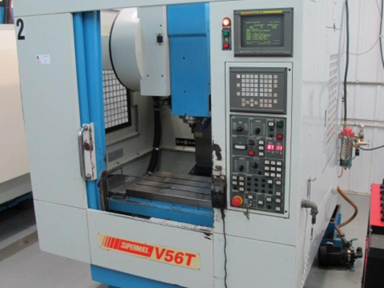 Supermax YCM-V56-T CNC Vertical Machining Center
