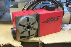 "Haas HRT-160 6.3"" Programmable Rotary Table w Brush Drive Motor"