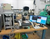 Vision Engineering Hawk Mono Dynascope Optical Measurement System with Quadrachek QC5000 Software and Computer Control