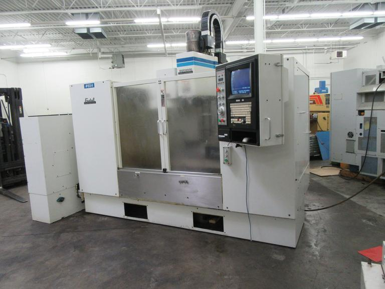Fadal VMC 4020 CNC 4-Axis Vertical Machining Center w Rotary Table