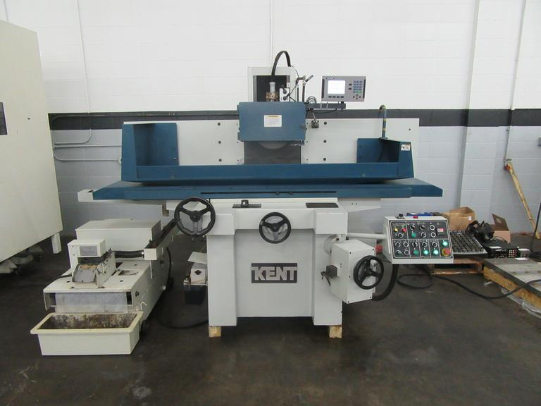 Kent KGS-84AHD 3-Axis Automatic Horizontal Surface Grinder with Incremental Downfeed and Acu-Rite 2-Axis Digital Readout