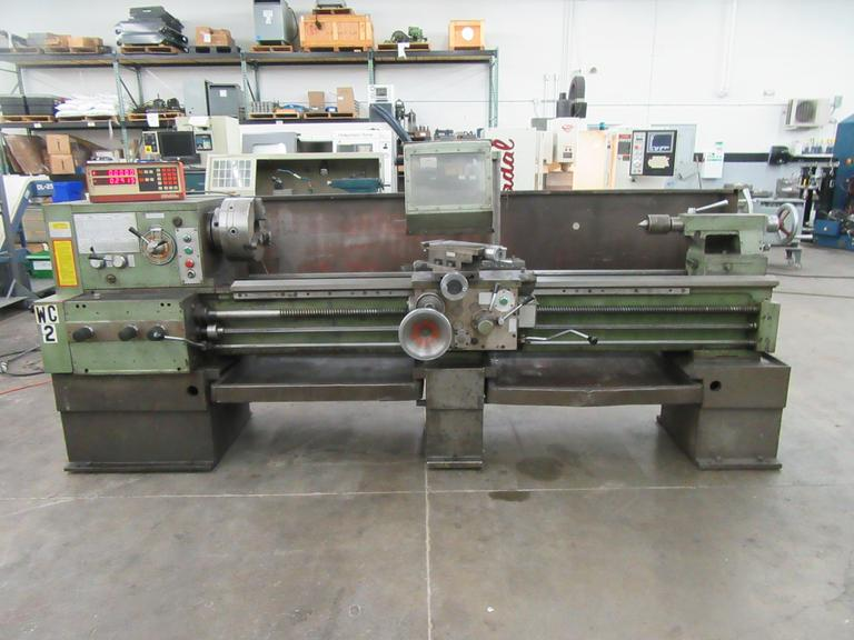 "Lion C11MT Removable Gap Bed Lathe 20"" x 78"" Engine Lathe (European Manufacture)"