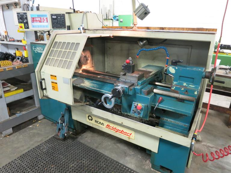 Bridgeport Romi EZ Path CNC Engine Lathe