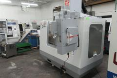Haas VF-2 30,000 RPM CNC Vertical Machining Center with Twin Arm Tool Changer and Probing