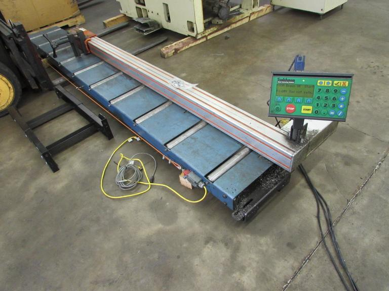 Tigerstop Programmable Stock Fence with Roller Conveyor