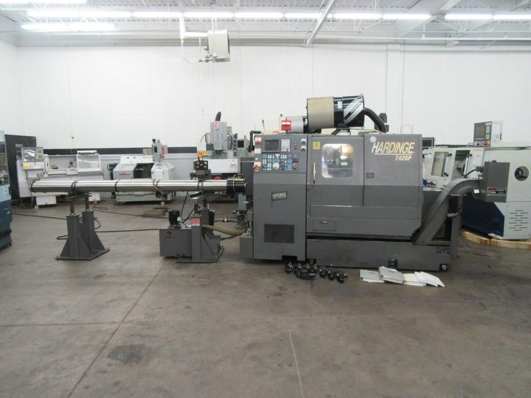 Hardinge Conquest T42-SP CNC Turning Center with Live Milling and Sub-Spindle
