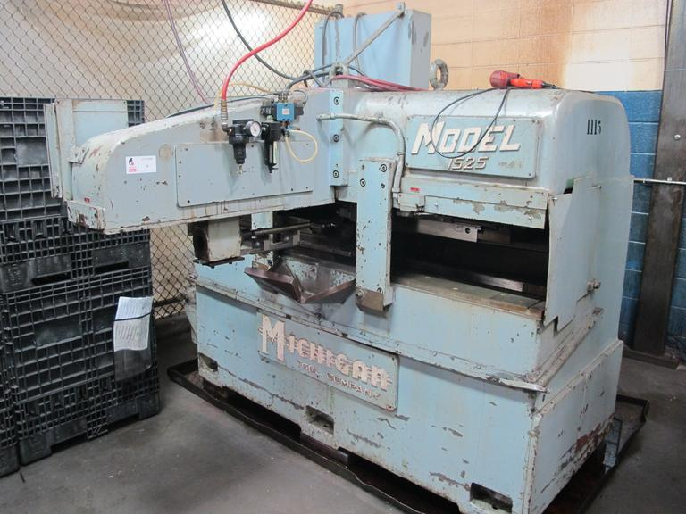 "Michigan Tool Co. Model 1525 Roto-Flo 48"" Spline Roller Machine"