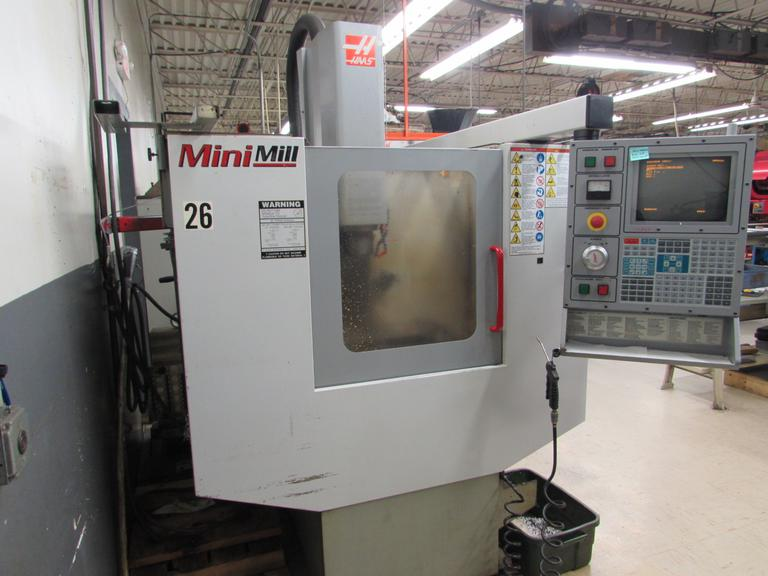 Haas Mini Mill CNC Machining Center