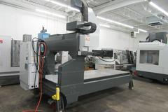 "Haas GR-510 CNC Router with Haas Coldfire, Extended 24"" Z-Axis Travel and Drilled & Tapped Steel Table, 10,000 RPM Spindle, 20 Station ATC"
