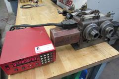 Haas HA5C 2 Twin Spindle Brush Type 5C Collet Indexer with Servo Controller and Pneumatic Collet Closers