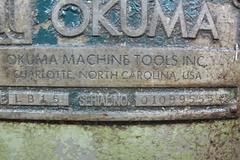 "Okuma LB15 CNC Turning Center with Hydraulic Tailstock and 8"" 3-Jaw Chuck"