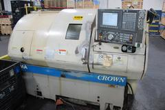 "Okuma Crown 762E CNC Turning Center with 8"" 3-jaw SMW Chuck and Hydraulic Tailstock"