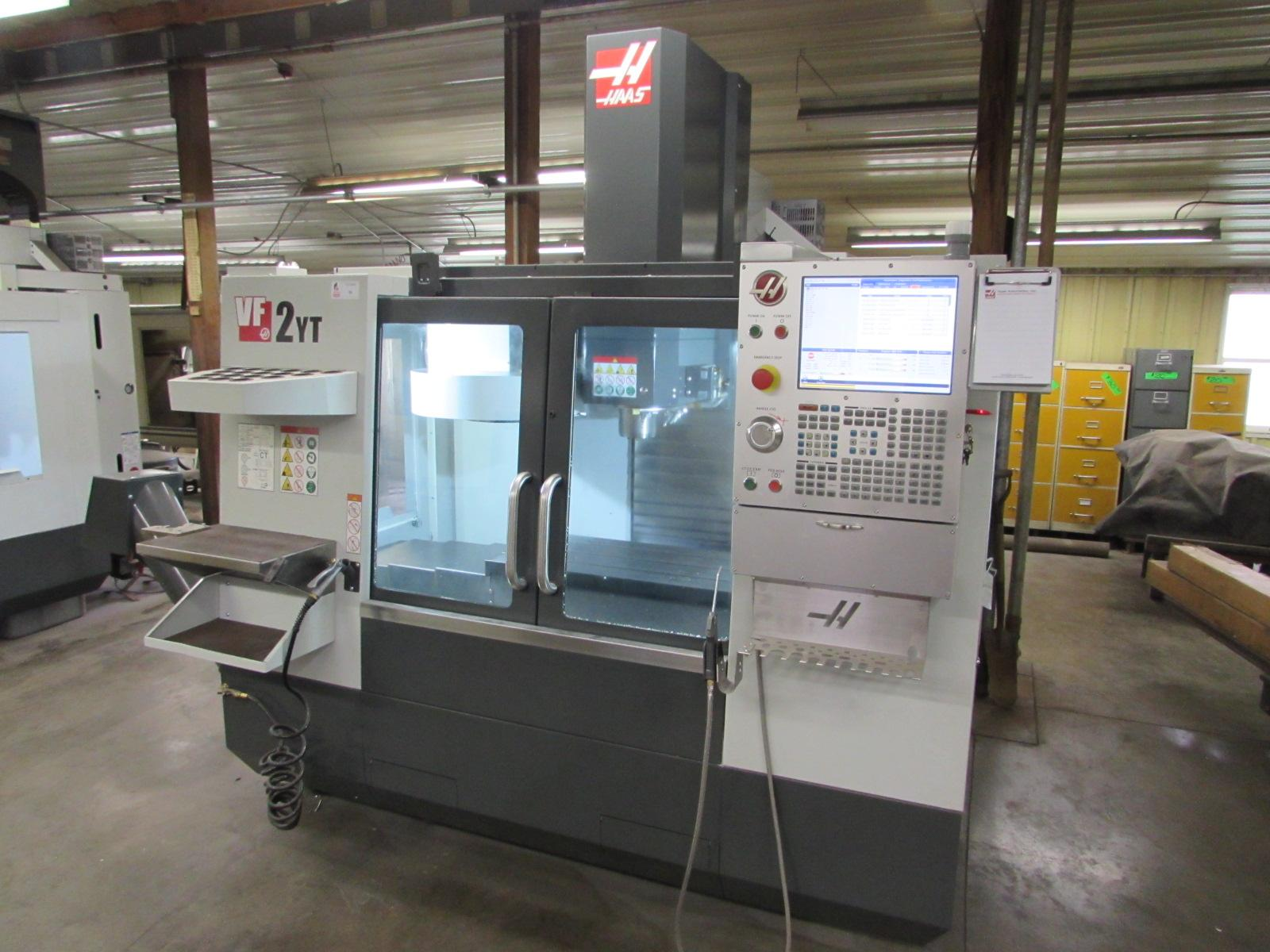 Online Auction Featuring 2 Haas VF-2YT, Haas VF-3YT