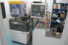 Fanuc Robocut Alpha-OB CNC Wire EDM (Electrical Discharge Machine) with Auto Threading, Ebbco Filtration